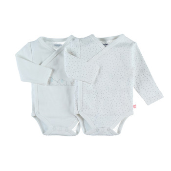 Vêtements Fille Pyjamas / Chemises de nuit Noukie's Z090182 Blanc