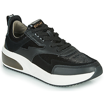 Chaussures Femme Baskets basses Replay FLOW CREATION Noir