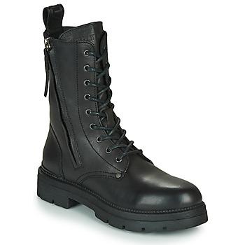 Chaussures Femme Boots Replay PAMELA STANDING Noir