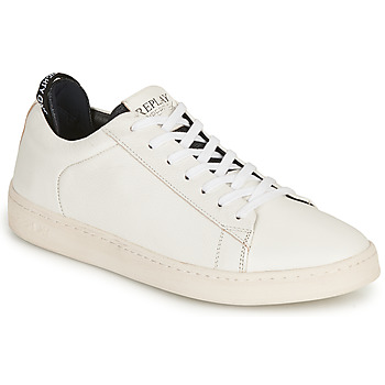 Chaussures Homme Baskets basses Replay BLOG ERIK Blanc