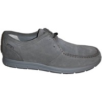 Chaussures Homme Derbies Enval 89030 slip on mocassino pelle nero con memory foam Grey