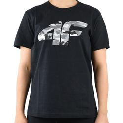 Vêtements Garçon T-shirts manches courtes 4F Boy's T-shirt HJL20-JTSM003-20S