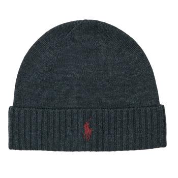 Accessoires textile Homme Bonnets En vous inscrivant vous bénéficierez de tous nos bons plans en exclusivité Merino Wool Beanie Gris Fonce