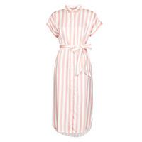Vêtements Femme Robes longues Lauren Ralph Lauren CICERO Blanc / Rose