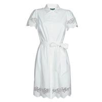 Vêtements Femme Robes courtes Lauren Ralph Lauren DORTHIA Blanc