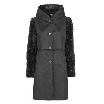 Vêtements Femme Manteaux Lauren Ralph Lauren COMBO FX SH-COAT Noir