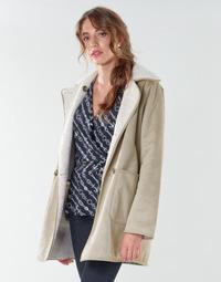 Vêtements Femme Manteaux Lauren Ralph Lauren RVRSBL FXSH-COAT Camel