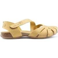 Chaussures Femme Sandales et Nu-pieds Interbios Sandales  UNIVERSE YELLOW