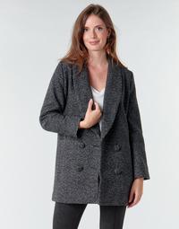 Vêtements Femme Manteaux Le Temps des Cerises DILAN1 Noir