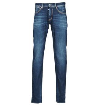 Vêtements Homme Jeans droit Le Temps des Cerises 812 BASIC Bleu