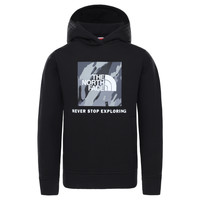 Vêtements Garçon Sweats The North Face NEW BOX CREW HODDIE Noir