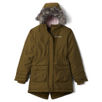 Vêtements Fille Parkas Columbia NORDIC STRIDER JACKET Violet