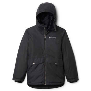 Vêtements Fille Parkas Columbia PORTEAU COVE MID JACKET Noir