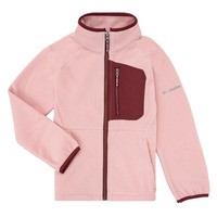 Vêtements Fille Polaires Columbia FAST TREK Rose