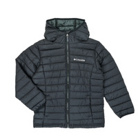 Vêtements Garçon Doudounes Columbia POWDER LITE HOODED JACKET Noir