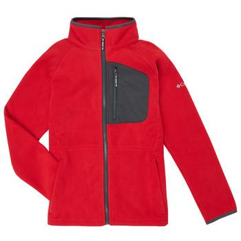 Vêtements Garçon Polaires Columbia FAST TREK Rouge