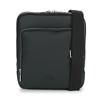 Sacs Homme Pochettes / Sacoches Lacoste MEN'S CLASSIC CROSSOVER BAG Noir