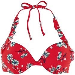 Vêtements Femme Maillots de bain séparables Brigitte Bardot Haut de maillot push-up rouge Garrigue Rouge