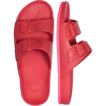 Chaussures Sandales et Nu-pieds Cacatoès BRASILIA<br> RED/PINK</br> Rose&&Rouge