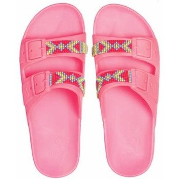 Chaussures Sandales et Nu-pieds Cacatoès JERICOACOARA<br> PINK FLUO</br> Rose