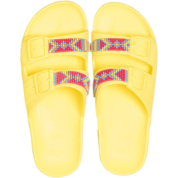 Chaussures Sandales et Nu-pieds Cacatoès JERICOACOARA<br> YELLOW FLUO</br> Jaune