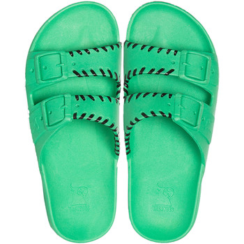 Chaussures Sandales et Nu-pieds Cacatoès PITINGA<br> GREEN</br> Vert