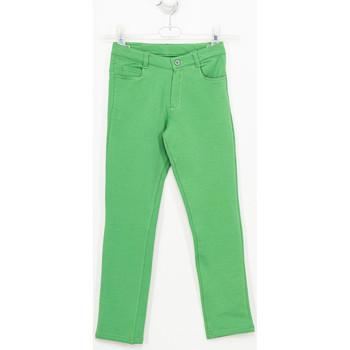 Vêtements Fille Pantalons Tutto Piccolo Pantalon Vert