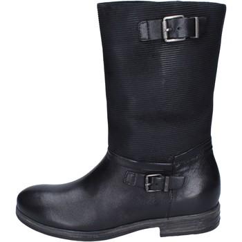 Chaussures Femme Bottes ville IgI&CO bottes cuir noir