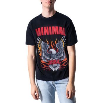 Vêtements Homme T-shirts manches courtes Minimal U.2232 Noir