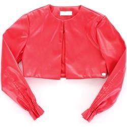Vêtements Fille Vestes en cuir / synthétiques Byblos Blu BJ14994 Rouge