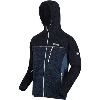 Vêtements Homme Polaires Regatta Cartersville hommes VII Full Zip Fleece Bleu
