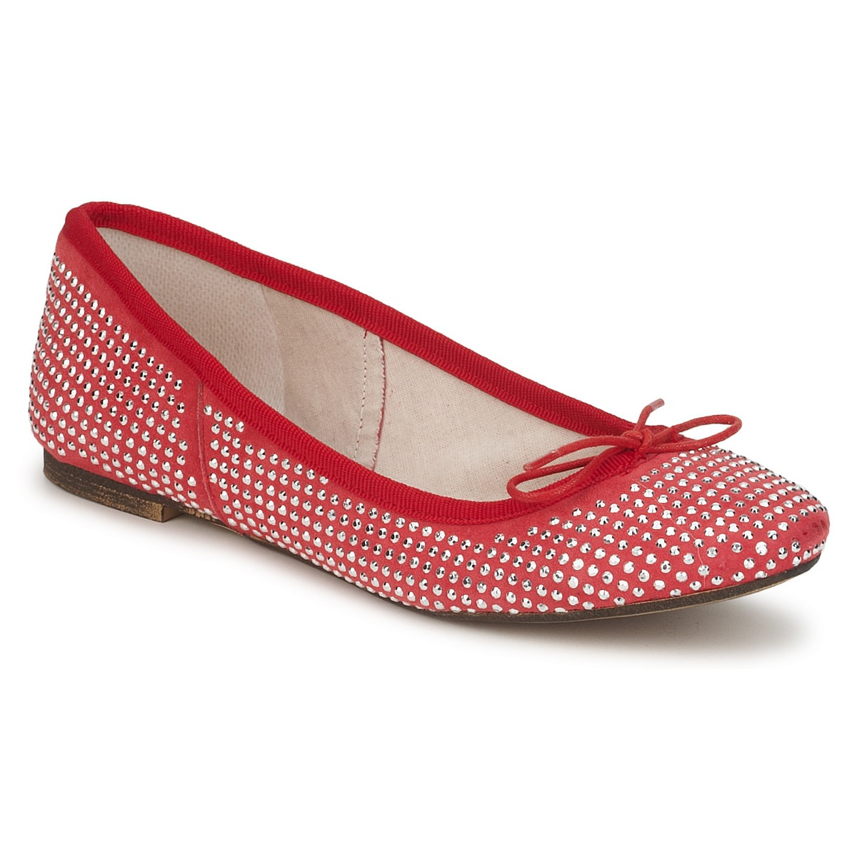 Ballerines Meline BALDE ROCK Rouge
