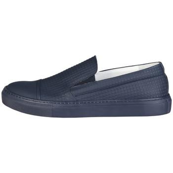 Chaussures Homme Slip ons Made In Italia - lamberto Bleu