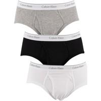 Sous-vêtements Homme Slips Calvin Klein Jeans Pack de 3 slips multicolore