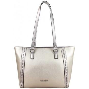 Sacs Femme Cabas / Sacs shopping Mac Alyster Sac shopping  Sublime déco lien Gris irisé Multicolor