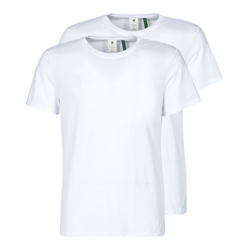 Vêtements Homme T-shirts manches courtes G-Star Raw NY JERSEY R Blanc