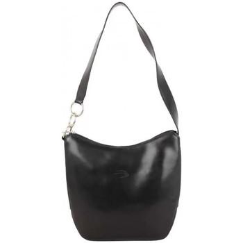 Sacs Femme Sacs porté épaule Patrick Blanc Sac épaule  en cuir lisse Noir Multicolor