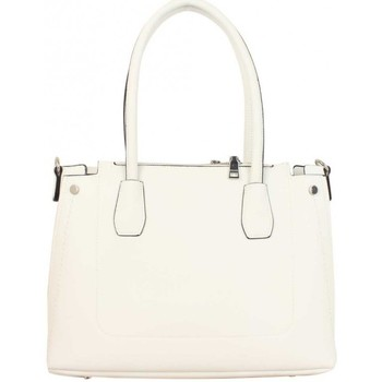 Sacs Femme Cabas / Sacs shopping Fuchsia Sac  déco couture sellier Blanc Multicolor