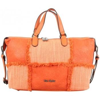 Sacs Femme Sacs porté main Mac Alyster Sac à main  Inspiration panache orange Multicolor