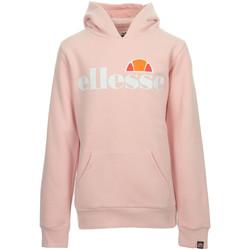 Vêtements Fille Sweats Ellesse Isobel Hoody Kids rose