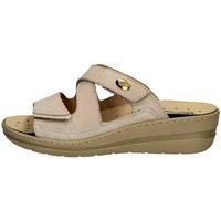 Chaussures Femme Mules Robert 32822-2 BLANC ET BEIGE