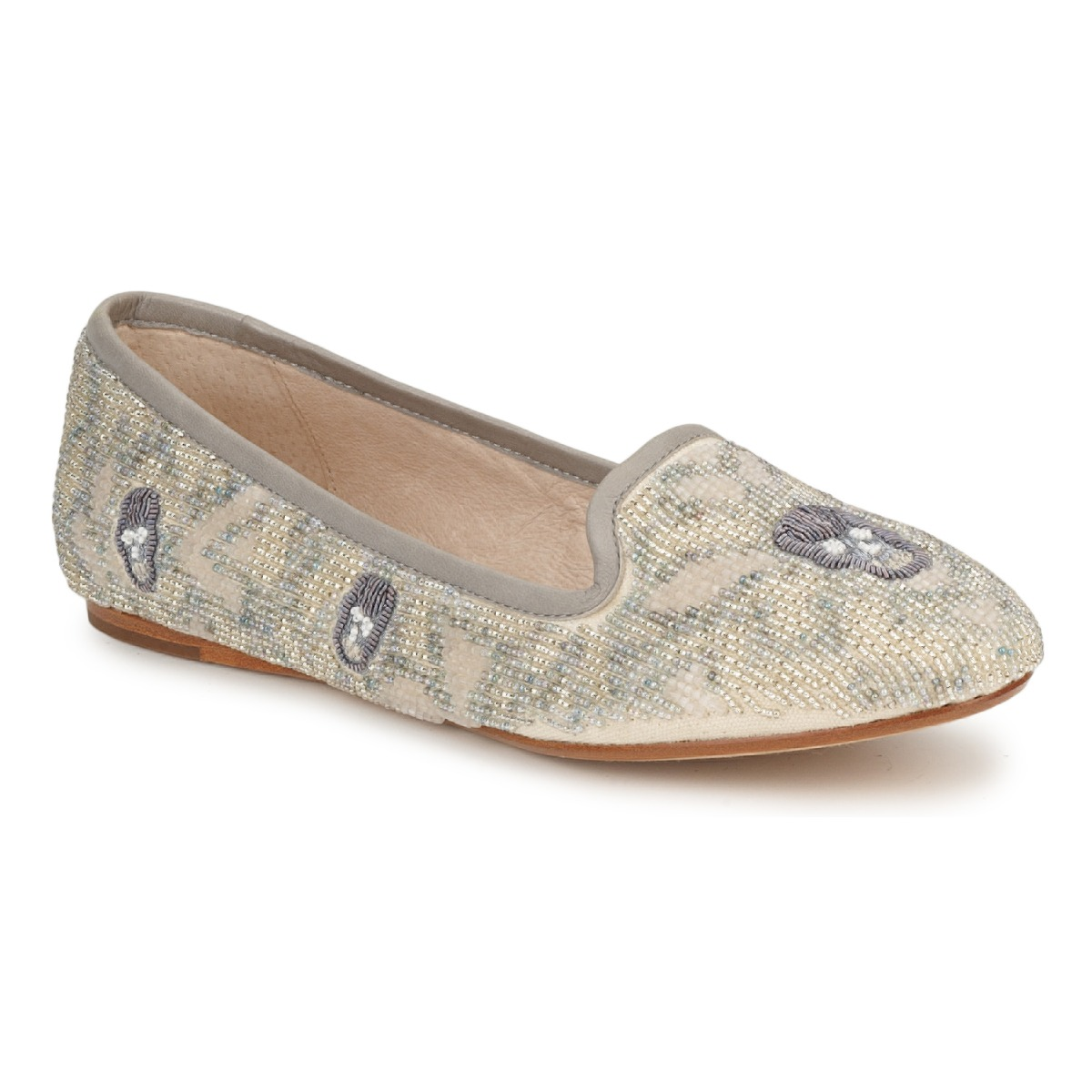 Mocassins House of Harlow 1960 ZENITH Beige / Gris