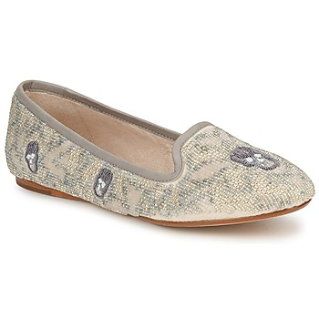 Mocassins House of Harlow 1960 ZENITH Beige / Gris 350x350