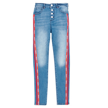 Vêtements Fille Jeans slim Guess J0BA02-D3UF0-LTIW Bleu