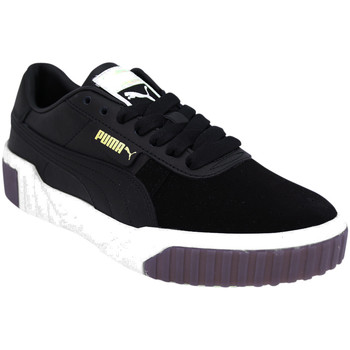Chaussures Femme Baskets basses Puma Baskets CALI EXOTIC noir