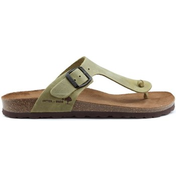Chaussures Femme Tongs Interbios Sandales  DAYIS PEREAS GREEN