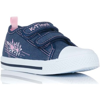 Chaussures Fille Baskets basses K Tinni KFY17832 Azul