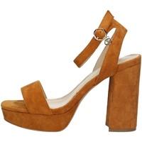 Chaussures Femme Sandales et Nu-pieds Gattinoni PENBM0994WMA504 CUIR