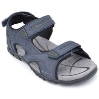 Chaussures Homme Sandales sport Geox u s.strada bleu
