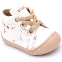 Chaussures Fille Boots Stones And Bones wave blanc